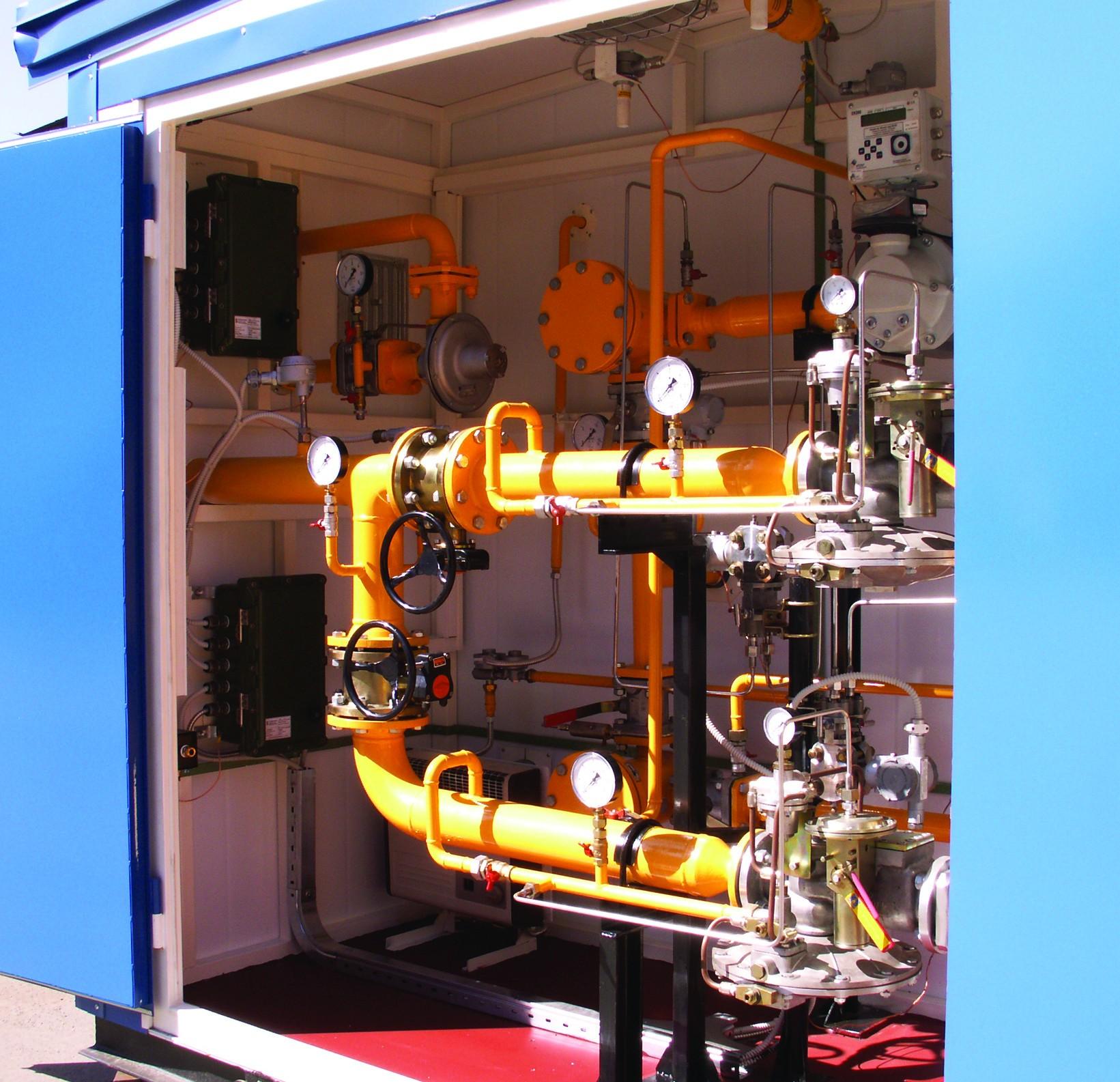 Газорегуляторные пункты с узлом учета расхода газа ГРПУ (ГАЗПРОММАШ)