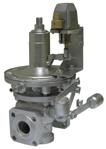 Клапаны предохранительные запорные электромагнитные ПКЭН(В)