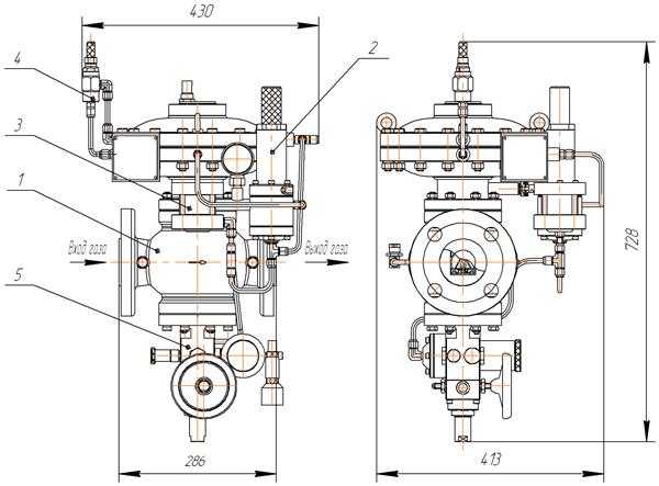 запорный клапан (ПЗК)