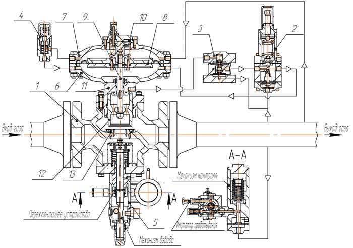 схема регулятора 149-BV