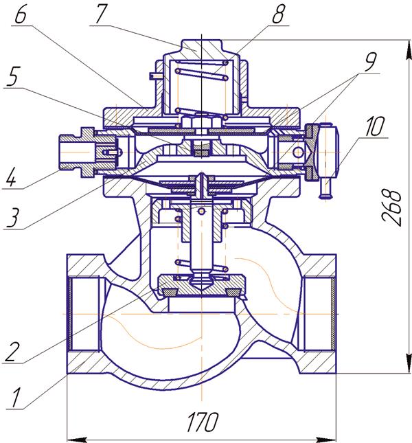 Комплект мембран к ПКК-40