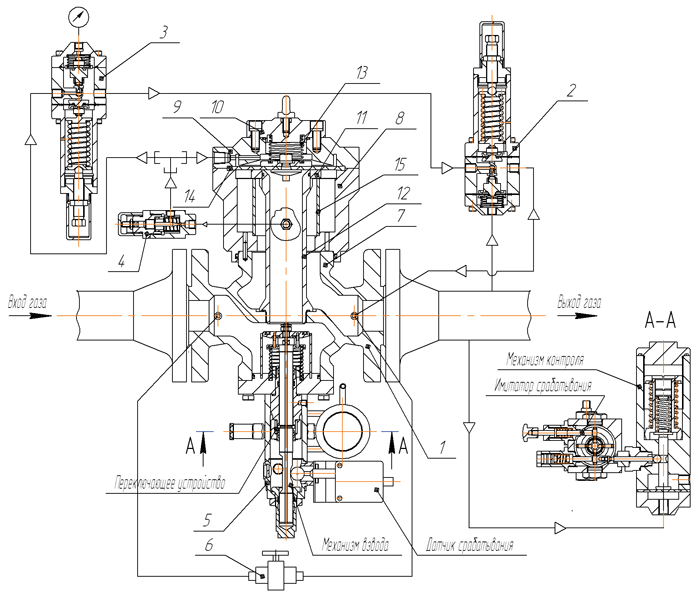 схема регулятора РД-100