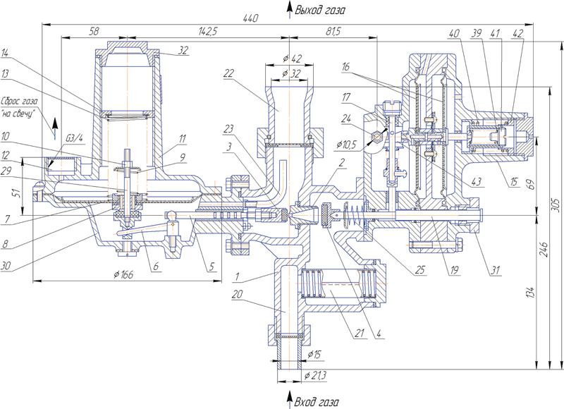 Мембрана рабочая для РДГД-10